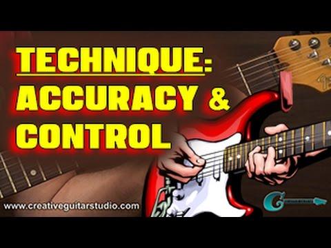 🎸  TECHNIQUE: Guitar Finger Practice for Accuracy & Control