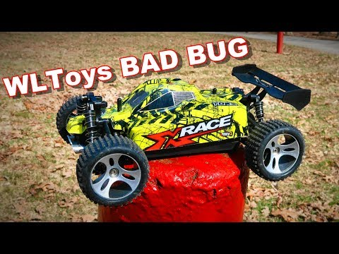 What a $45 4WD RC Buggy Looks Like - WLtoys 18401 - TheRcSaylors