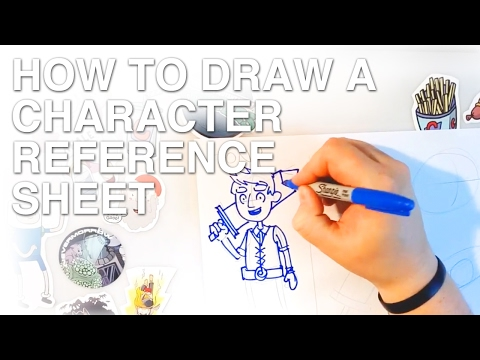 How To Draw A Character Reference Sheet