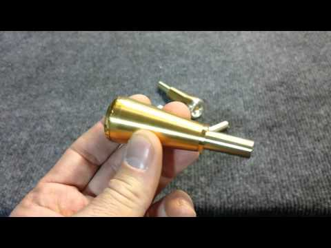 24k gold plated 5MM Modular Mouthpiece