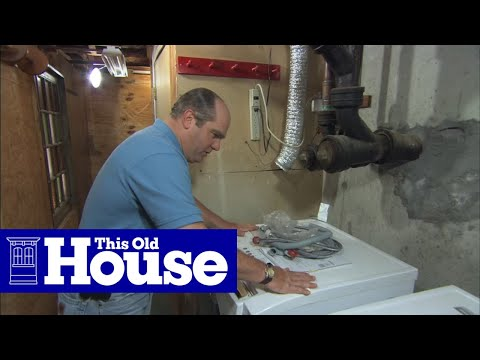 How to Install a Front-Loading Washer and Dryer - This Old House