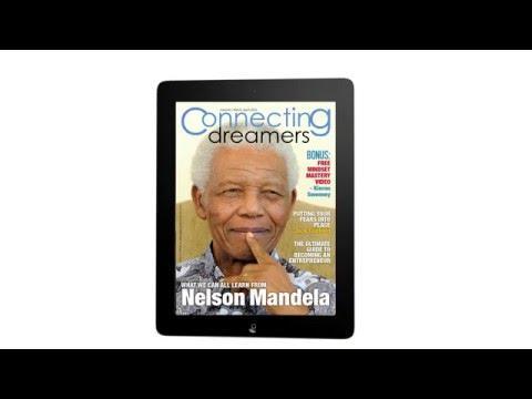 Sample of an interactive digital magazine