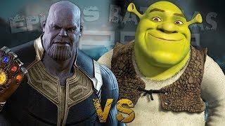 Download Thanos vs Shrek. Épicas Batallas de Rap del Frikismo ¡Bonus! | Keyblade Video