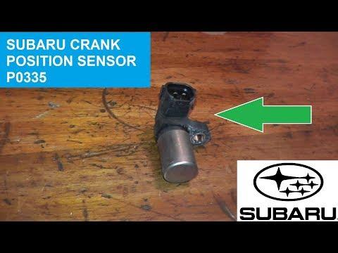 How to Test and Replace Subaru Crankshaft Position Sensor P0335