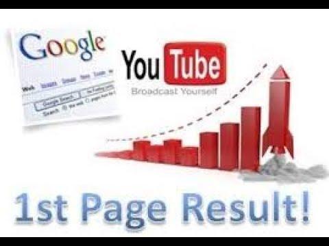 1st rank on Google + you tube seo tips