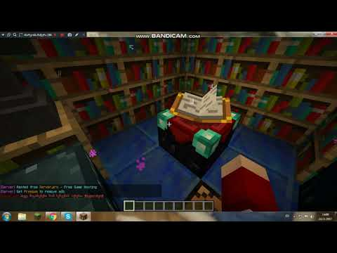 Minecraft / Enchanting The Bow / By Crazy TM