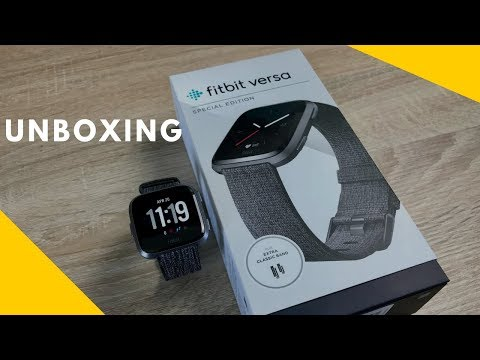 Fitbit Versa Special Edition Unboxing & Setup