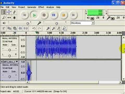 How to make a podcast with Audacity
