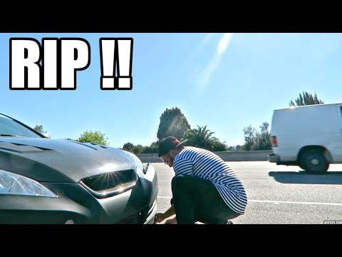 I HAVE THE WORST LUCK WITH CARS !!!! (DAMAGED ON FREEWAY)