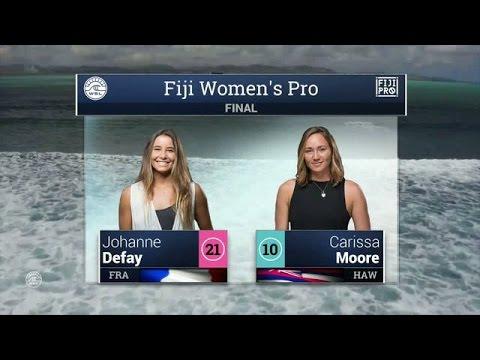 2016 Fiji Women's Pro: Final Video