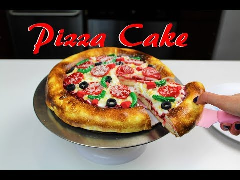 Easy Pizza Cake   CHELSWEETS