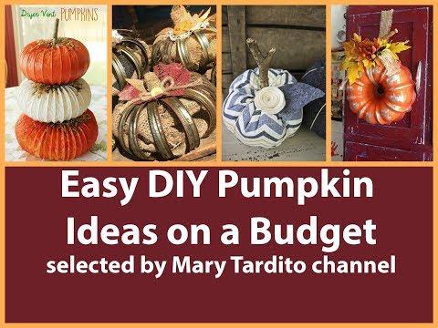 Easy DIY Pumpkin Ideas on a Budget