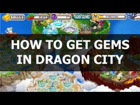 How To Get 5 Gems FAST in Dragon City on Facebook