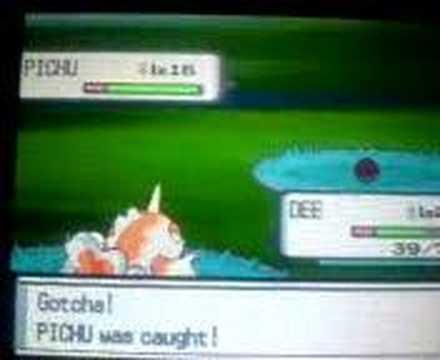 catching a pichu