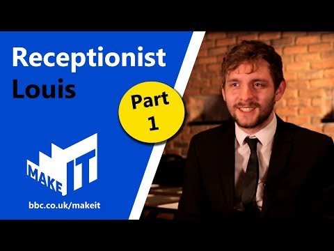 HOTEL RECEPTIONIST Pt.1  |  Make It into: Hotels