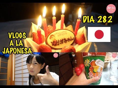 Feliz Cumpleaños Yurika + Menu Mexicano JAPON - Ruthi San ♡ 09-10-16