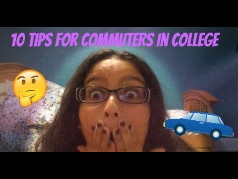 10 Tips for Commuters in College