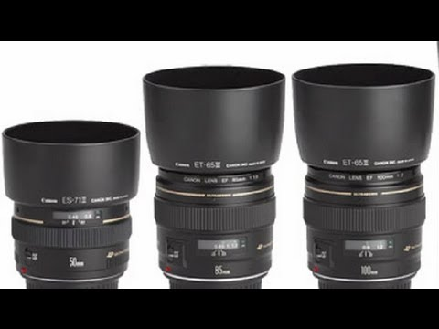 How to Choose the Right Digital SLR Lenses : Filmmaking & Camera Tips