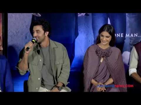Sanju Official Trailer Launch UNCUT! | Ranbir Kapoor, Dia Mirza & Raju Hirani Talk About The Trailer