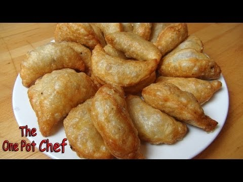 Beef and Potato Curry Puffs | One Pot Chef