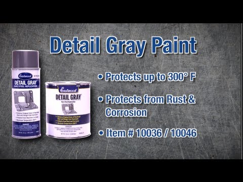Detail Gray Auto Paint from Eastwood - Match Original Underhood and Under Car Colors