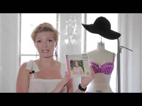 How to Add a Bra to a Swimsuit : Swimsuit Fashion