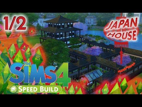 UN TUFFO NEL PERIODO EDO?-JAPAN HOUSE-The sims 4 ITA-Speed Build 1/2