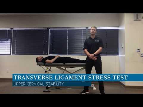 Transverse Ligament Stress Test