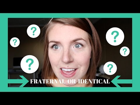 Q&A:THE TWINS: FRATERNAL...OR...IDENTICAL?!?!