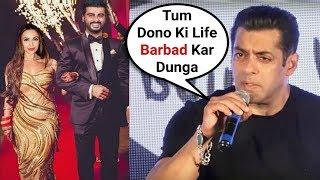 Salman Khan Angry Reaction On Malaika Arora Khan And Arjun Kapoor Wedding