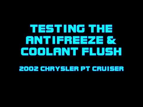 ⭐ 2002 Chrysler PT Cruiser - Antifreeze Flush - Radiator Cap