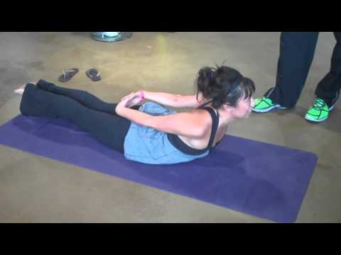 Stretch 4 Lower Back (Locus Pose) Strengthen Spine