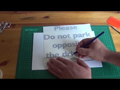 Making Custom Cut Vinyl Signs   SImple Guide For Begineers