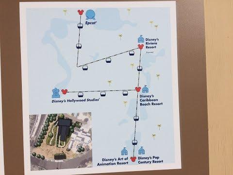 New Disney gondolas,Swan Resort,Boardwalk & Epcot
