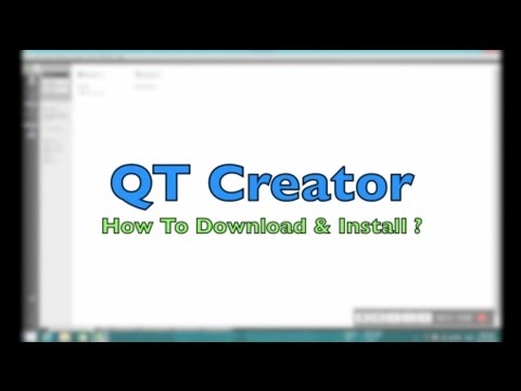 How To Download And Install QT Creator