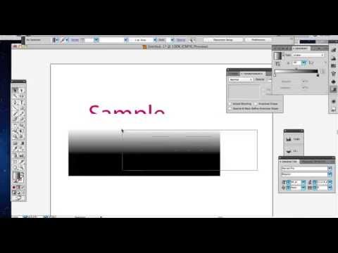 Adobe Illustrator Tutorial - How to add a logo reflection