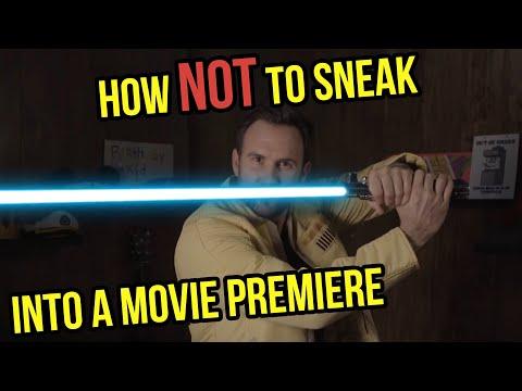 How to Sneak Into The Star Wars Premiere (The Con Solo)