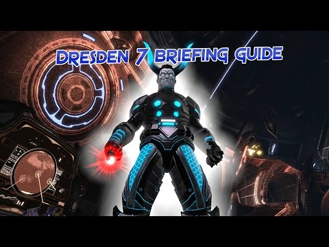 Dresden 7 chest briefing locations [DCUO]