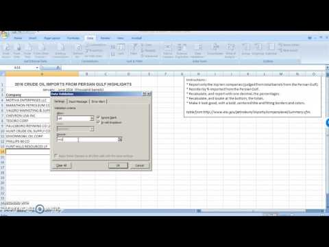 How to use an excel dropdown list and vlookup to auto-populate cells based on a selection