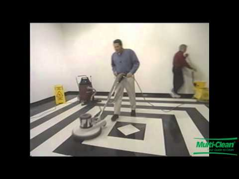How to Deep Scrub and Recoat Your Floor Finish | How to maintain your floor finish by Multi-Clean