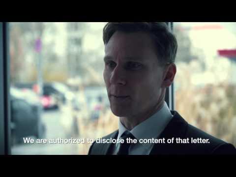 Liebesgrüße aus Moskau - die Ausbeuter | Einreichung zum Filmwettbewerb Brief