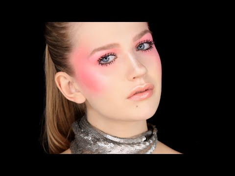 Sculpted Blush/Draping - Editorial Makeup Look