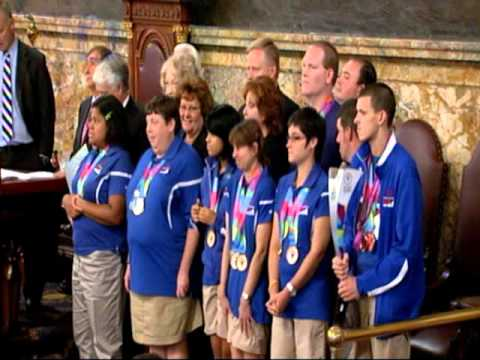 Special Olympians Of Pennsylvania