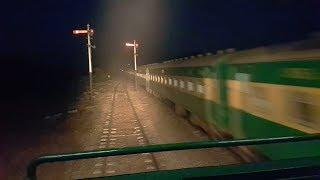 GE Locomotive Cab Ride || Day & Night View ||  Freight Train || Faisalabad To Toba Tek Singh