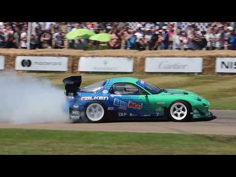 RX7 DRIFT | FOS GOODWOOD 2017
