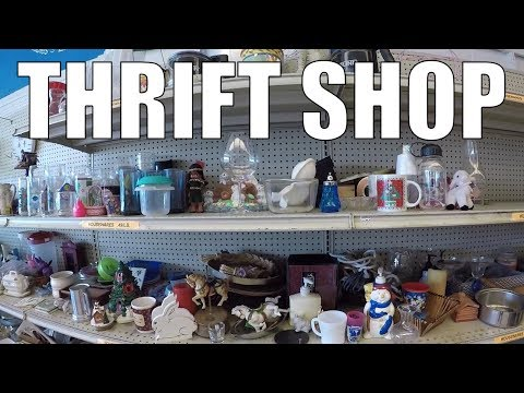 Thrift Store Treasure Hunting for ReSale - Clothes and More!