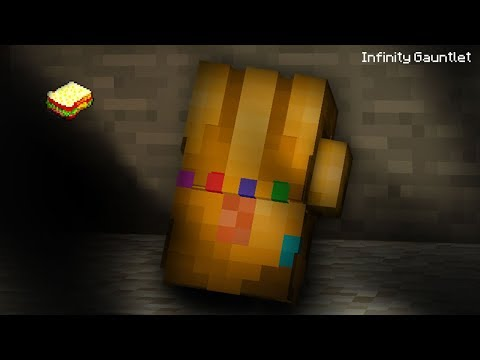 Minecraft | How to make an Infinity Gauntlet