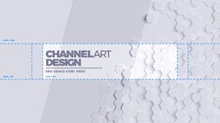 How To Make A YouTube Banner / Channel Art 2018! *Aesthetic