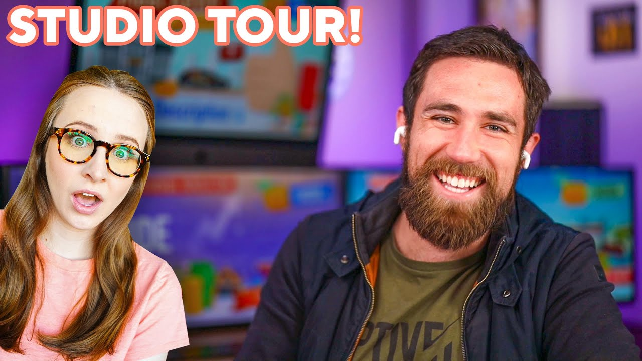 Revealing Meet Kevin's $200,000 YouTube Studio !!