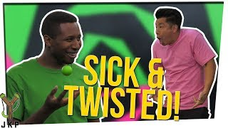 Sick & Twisted Charades (Charades With A Dodgeball)